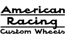 American Racing Wheels Decal