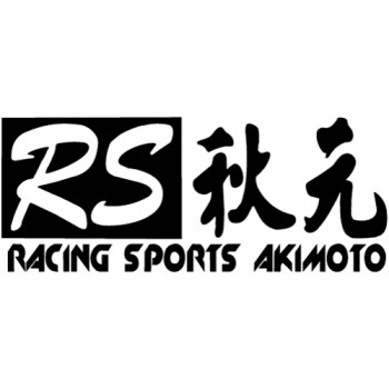 Akimoto Racing Sports Decal