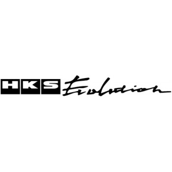 HKS Evolution Decal